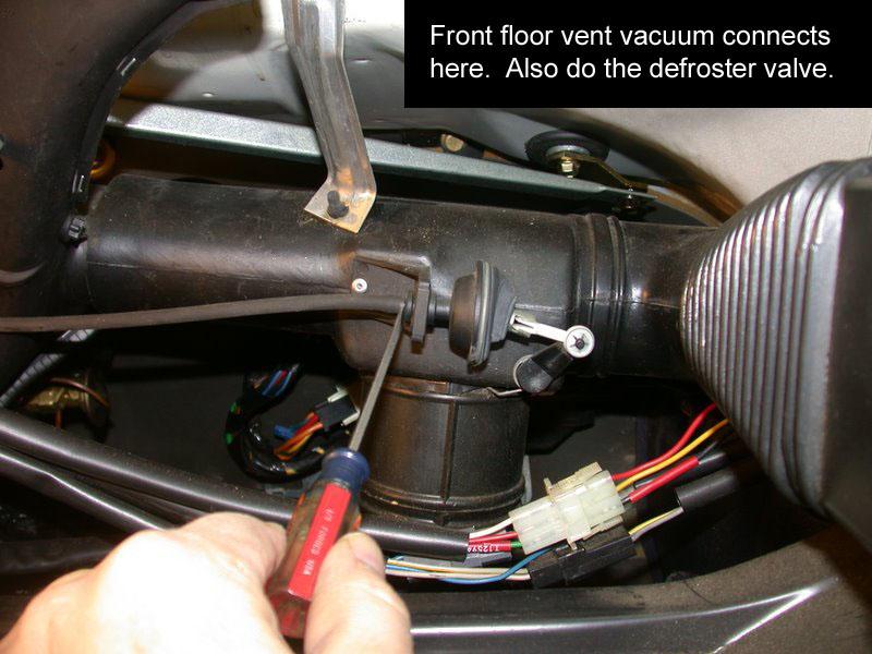 1990 Volvo 240 Heater Fan Blower Motor Replacement